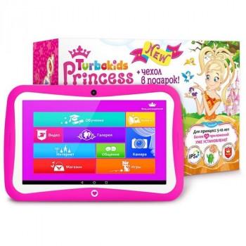 Turbo Kids Princess детский планшет + чехол