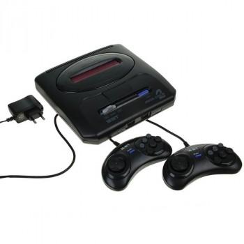 MegaDrive 2 (прист., 2 дж., AV-каб., адапт.)