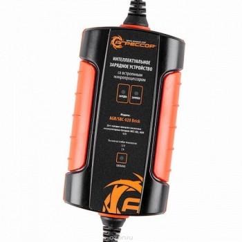 Агрессор (AGR/SBC-020 Brick) Цифровое з/у, 3 фазы зар., ток зар. 2А, для 12V АКБ (WET, AGM, GEL) Зарядное устройство