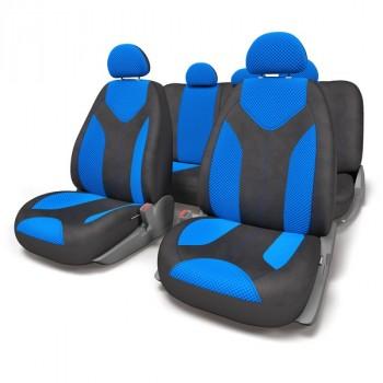 Autoprofi (MTX-1105 BK/BL (S)) Matrix, форм. велюр,черный/синий