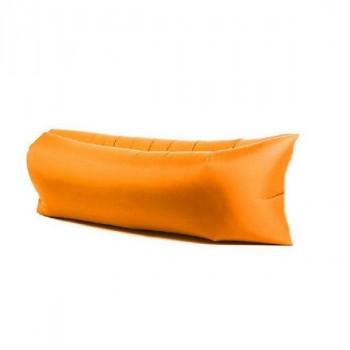 Надувной лежак (ламзак) Оранжевый