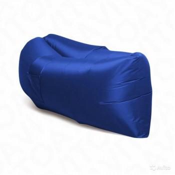 Надувной лежак (ламзак) Темно-синий