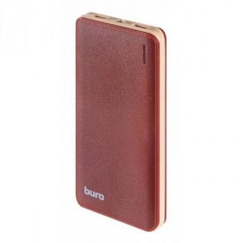 Buro T4-10000 LI-POL 10000mAh 1A+2.1A коричневый 2XUSB