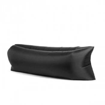 Надувной лежак (ламзак) Черный