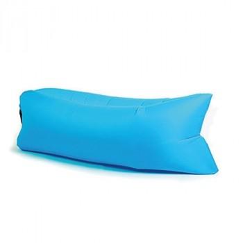 Надувной лежак (ламзак) Бирюзовый