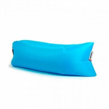 Надувной лежак (ламзак) Голубой