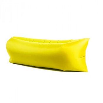 Надувной лежак (ламзак) Желтый