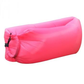 Надувной лежак (ламзак) Розовый