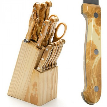Mayer&Boch MB 24251 набор ножей 15 пр. + подставка