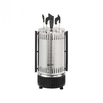 Home Element HE-EB741 электрошашлычница серый гранит