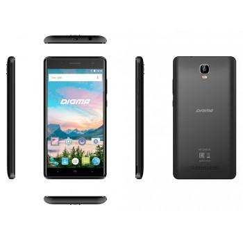 "Digma Q500 Hit 5""/3G/8GB/2SIM/AND.7.0 черный"