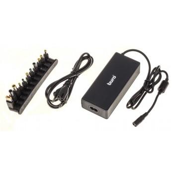 Buro BUM-0221B90 автоматический 90W 12V-20V 11-Connectors 4.5A 1XUSB 2.1A от сети