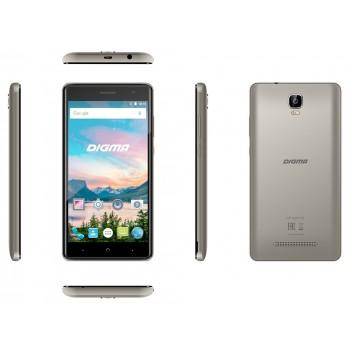 "Digma Q500 Hit 5""/3G/8GB/2SIM/AND.7.0 серый"