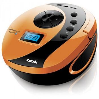 BBK BS10BT черный/оранжевый