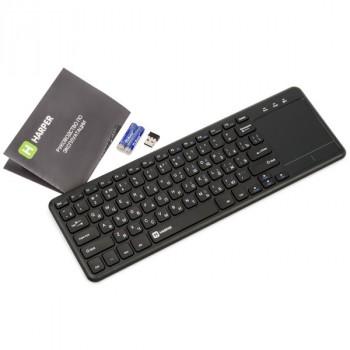 Harper KBT-101 беспроводная клавиатура с тачпадом для SmartTV