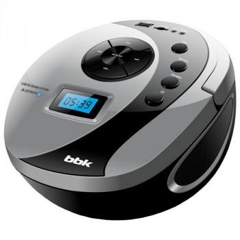 BBK BS10BT черный/серый