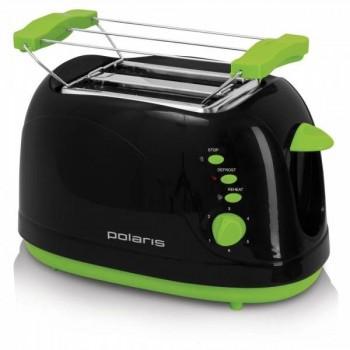 Polaris PET0702LB тостер черно-зеленый
