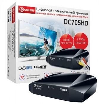D-Color DC705HD DVB-T/T2