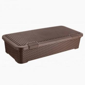 Curver 04760-N23-00 Infinity коробка перфорированная с крышкой 4,5л белая