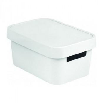Curver 04752-N23-00 Infinity коробка с крышкой 11л белая