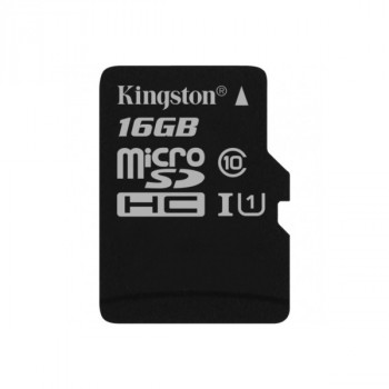 Kingston MicroSDHC 16Gb Class10 UHS-I 45MB/S