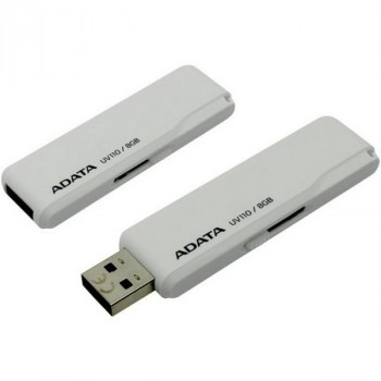 A-Data 16Gb AUV110 белый