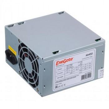 Exegate AA450 (450W, ATX, 8CM Fan, 24+4pin, 2*SATA, 1*IDE)