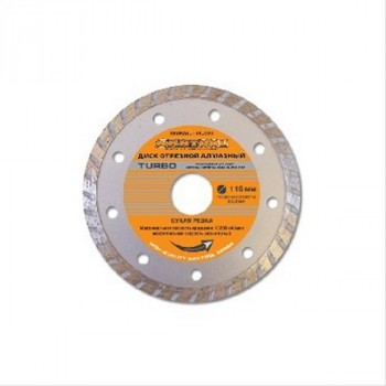 Santool (060501-115-222) Диск отрезной ''Turbo'' 115х22,2 мм алмазный сухая резка