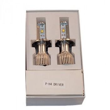ClearLight Лампа LED H4 2800 LM ( 2 шт)