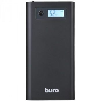 Buro RA-16000-3U-LCD-BK LI-ION 16000MAH 2.1A+1A 3XUSB черный