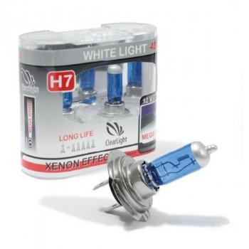 ClearLight Лампа H7 12V-55W WhiteLight (2 шт.)