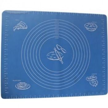 Mallony BLS-19*15 коврик для раскатки теста и выпечки с разметкой 47,5х37,5 см (985813)