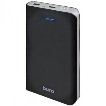 Buro RA-25000 LI-ION 25000MAH 2.1A+1A черный/темно-серый 2XUSB