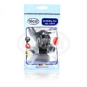 Alca (510 510) Разветвитель (зарядное устройство) прикуривателя с 3 USB 2.1 А. Черный Зарядное устройство