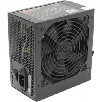 Exegate 500PPX (500W, ATX, Black, Active PFC, 12CM, 20+4pin/4pin/PCI-E/4*IDE/5*SATA)