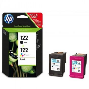 HP CR340HE HP (№122) черный + (№122) цветной для HP Deskjet 1050/2050/2050S