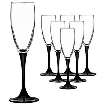 Luminarc Домино наб. фужеров для шампанского 6шт 170мл (H8167)