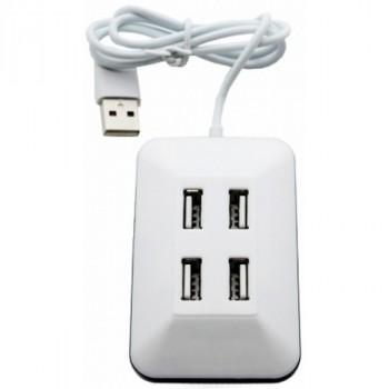 Perfeo USB-Hub PF-VI-H028 4 Port белый
