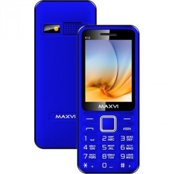 Maxvi K12 Blue-Black (2 Sim)