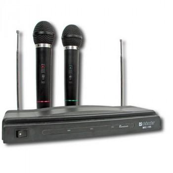 Defender (64155) MIC-155 (радио пара) черный