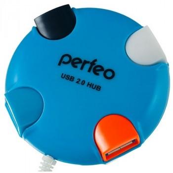 Perfeo USB-Hub PF-VI-H020 4 Port синий