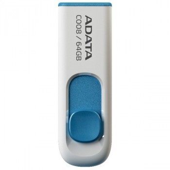 A-Data 64Gb C008 бело-синий