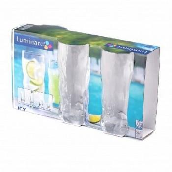 Luminarc Айси наб. стаканов 3 шт 400 мл высокие (G2764)