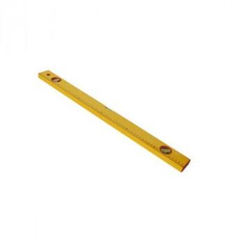 Santool (050202-060) Уровень алюминиевый желтый 3 глазка с линейкой 600 мм