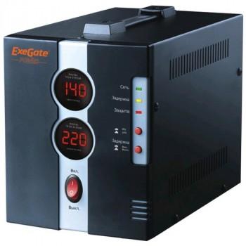 Exegate Power DCR-1000D (диапазон 140...260В, 1 розетка )