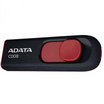 A-Data 32Gb C008 черный-красный