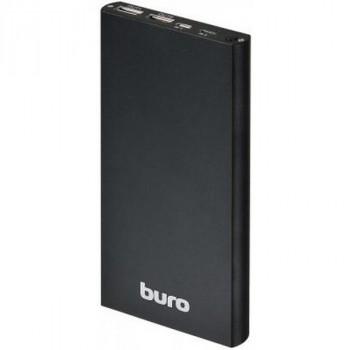 Buro RA-12000-AL-BK LI-POL 12000MAH 2.1A+1A черный 2XUSB