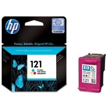 HP CC643HE № 121 цветной