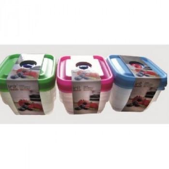 Irit IRH-026P наб. пластиковых контейнеров 3шт.