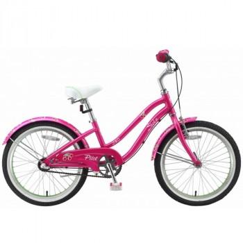 Stels Pilot-240 Lady 20'' 3-sp.15*LU069884*LU0002999*11'' Розовый/салатовый